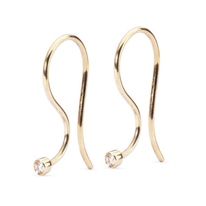 Trollbeads Earring Hooks Gold & Brilliant (1619587792939)