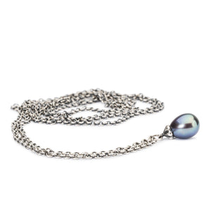 Trollbeads Fantasy Necklace with Peacock Pearl (1520928522283)