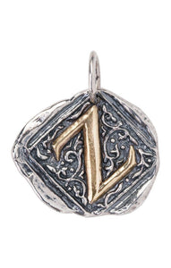 Waxing Poetic Century Insignia Charm - Letter Z (4357319131179)