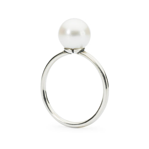 Trollbeads White Pearl Ring (1521013981227)