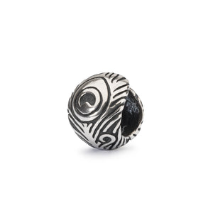 Trollbeads Peacock Feather Bead (1520925966379)