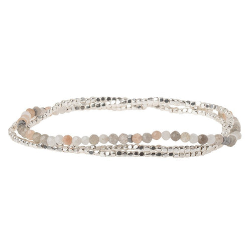 Scout Curated Wears Delicate Stone Moonstone - Stone of Balance (4384868204587)