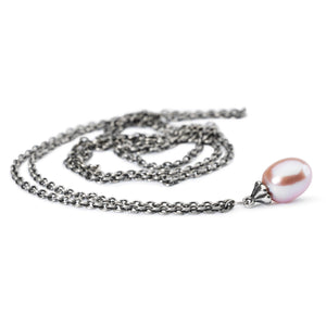 Trollbeads Fantasy Necklace with Rosa Pearl (1520890576939)