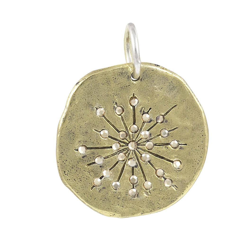 Waxing Poetic Found Again Pendant - Starburst (4322250653739)