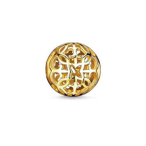 Thomas Sabo Gold Ornament Bead (4377665110059)