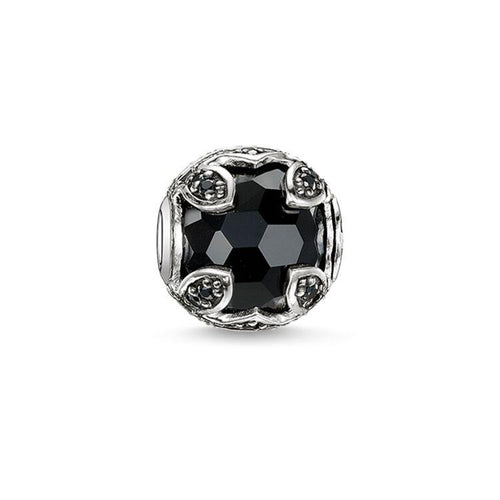Thomas Sabo Black Lotus Bead (4374634823723)