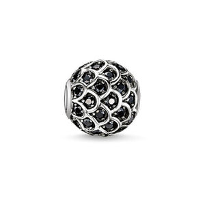 Thomas Sabo Black Fish Bead (4374624141355)