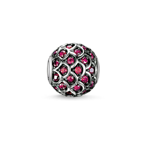 Thomas Sabo Red Fish Bead (4374621421611)