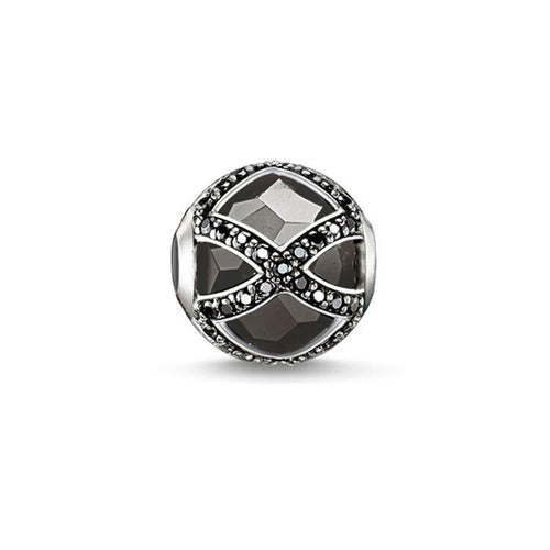 Thomas Sabo Black Maharani Bead (4374618079275)