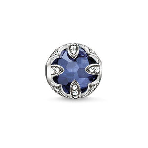 Thomas Sabo Dark Blue Lotus Bead (4374585081899)