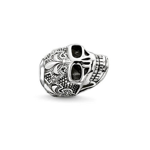 Thomas Sabo Skull Bead with Lily (4377636110379)