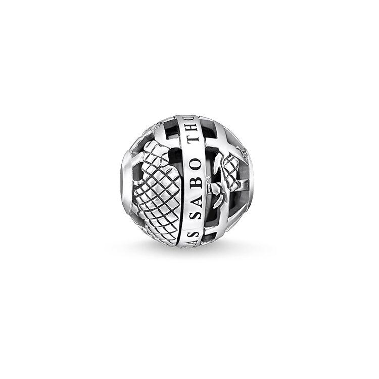 Thomas Sabo Black Globe Bead (4377621725227)