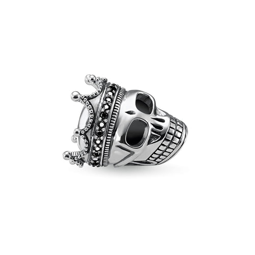 Thomas Sabo Skull King Bead (4377596952619)