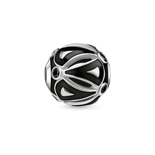 Thomas Sabo Black Ethno Bead (4376929304619)