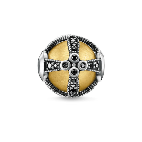 Thomas Sabo Royalty Bead Gold (4373228519467)