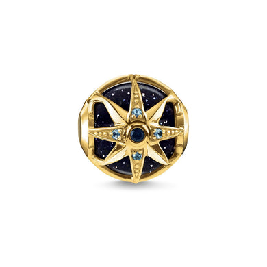 Blue Royalty Star Bead Gold (4373227470891)