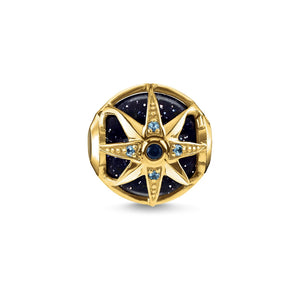 Thomas Sabo Blue Royalty Star Bead Gold (4373227470891)