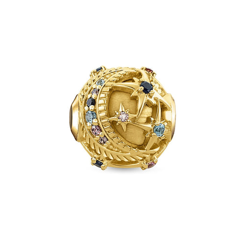 Thomas Sabo Royalty Star Bead Gold (4373226651691)