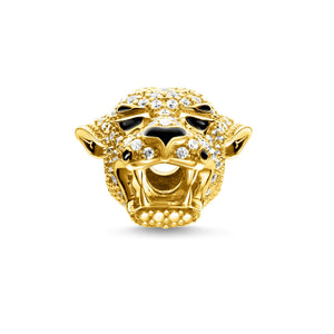 Thomas Sabo Tiger Bead Gold with Zirconia (4373224161323)