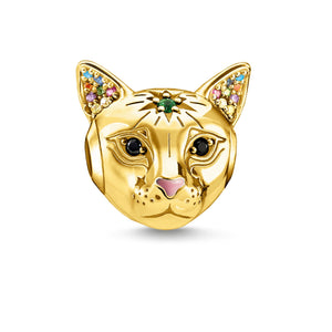 Thomas Sabo Cat Bead Gold (4373216395307)