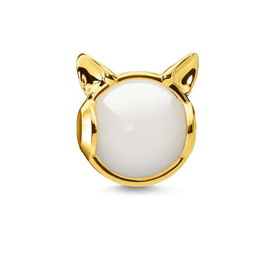 Cat's Ears Bead Gold (4373214560299)