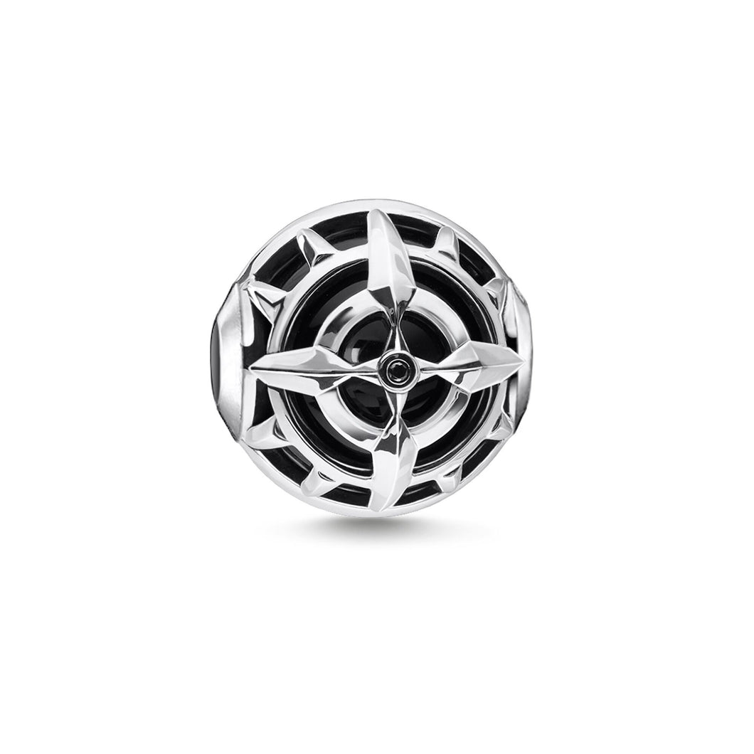Thomas Sabo Compass Bead Black (4373204631595)