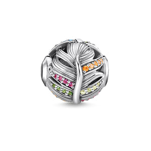 Thomas Sabo Feather with Multi-Colored Zirconia (4387510714411)