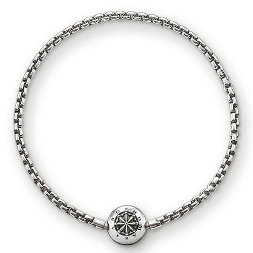 Thomas Sabo Blackened Bracelet for Beads (4373184282667)