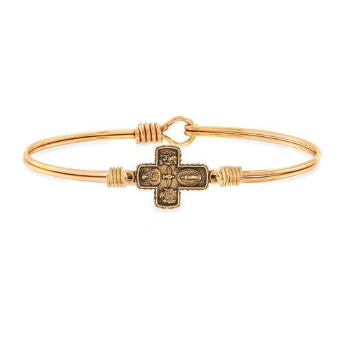 Luca + Danni 4 Way Medal Bangle Bracelet