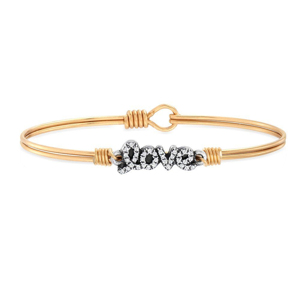 Luca + Danni Love Bangle in Pave Crystal