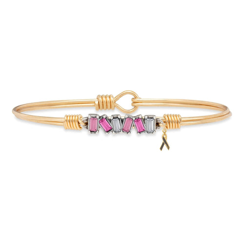Luca + Danni Mini Hudson Bangle in Pink Ombre