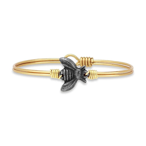 Luca + Danni Bee Bangle Bracelet (4354588475435)