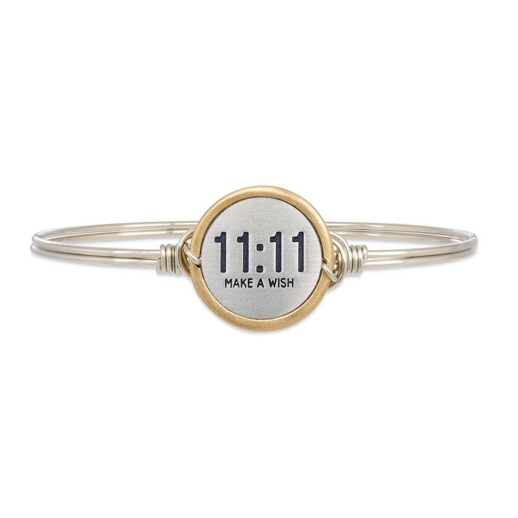 Luca + Danni 11:11 Make A Wish Bangle Bracelet (1782385705003)