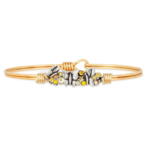 Luca + Danni Butterfly Medley Bangle Bracelet