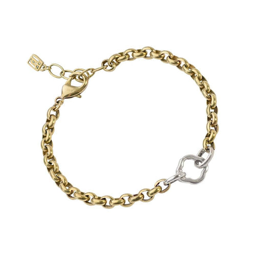 Waxing Poetic Stanza One Clip Bracelet (4322230534187)