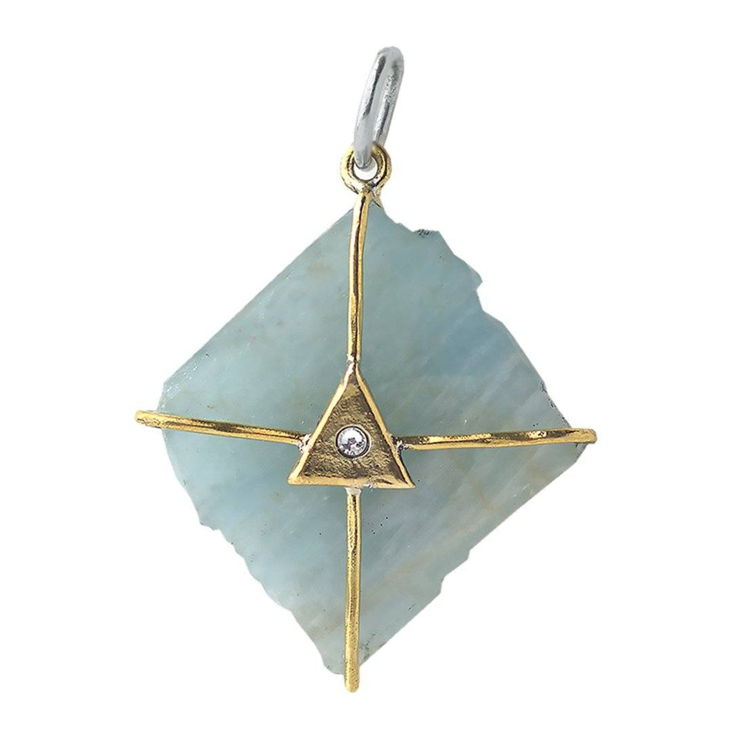 Waxing Poetic Touchstone Pendant - Discovery Talisman (4348400697387)