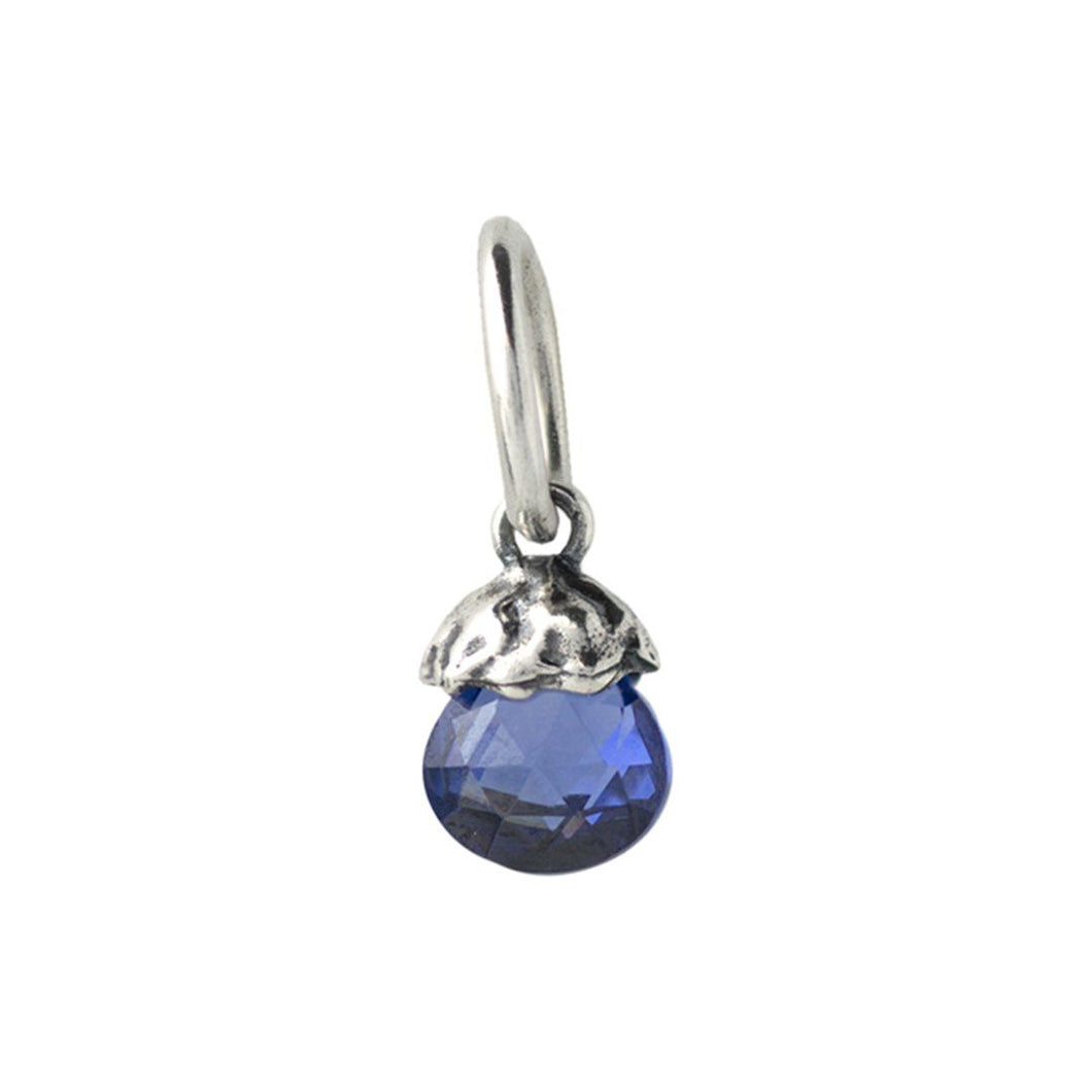 Waxing Poetic Tiny Light Birthstone - Simulated Sapphire - September (4348394995755)