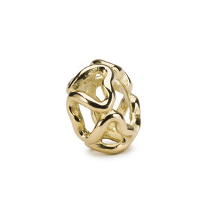 Trollbeads Connection Gold