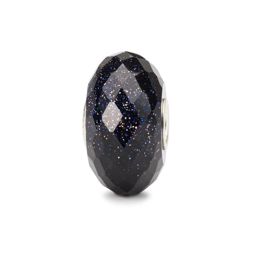 Trollbeads Faceted Blue Goldstone