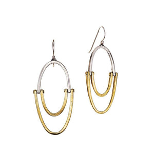 Waxing Poetic Sister Hoop Earrings
