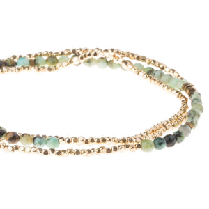 Scout Curated Wears Delicate Stone African Turquoise - Stone of Transformation (1733246648363)