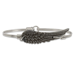 Luca + Danni Angel Wing Bangle Bracelet (1789978050603)