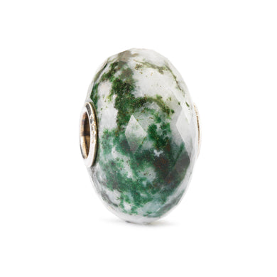 Moss Agate Bead