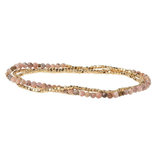 Scout Curated Wears Delicate Stone Rhodochrosite - Stone of Love (4384871120939)
