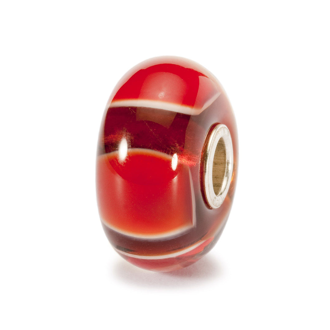Trollbeads Red Symmetry Bead (1520977510443)