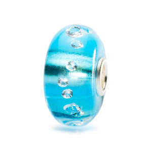 Trollbeads The Diamond Bead Ice Blue (4347111833643)