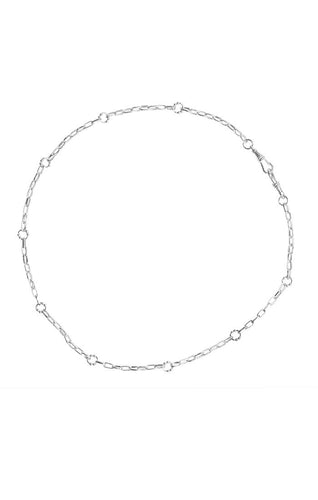 Waxing Poetic Everything Necklace Silver (4381117710379)