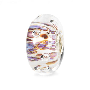 Trollbeads Purple Rippling Bubbles Bead (1520998547499)