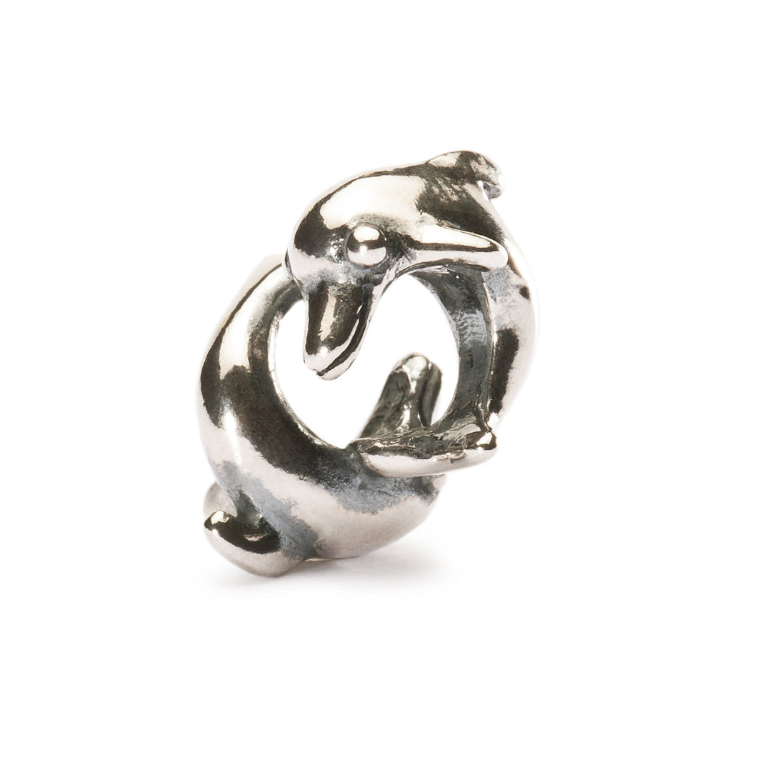 Trollbeads Playing Dolphins Bead (1520921182251)