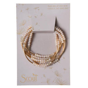 Scout Curated Wears Scout Wrap Ivory Combo / Gold (1764367073323)